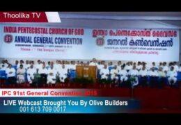2015 IPC General Convention Wednesday Night