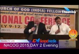 NACOG 2015 – DAY 2 Evening