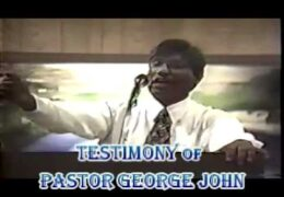 Testimony of Pastor George John – Who was Jailed in Sharja