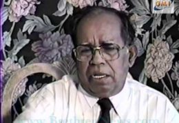 An interview of M E Cherian