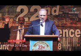 2018 AGIFNA, Thursday Inaugural Meeting