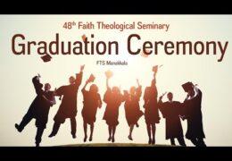 2019 Faith Theological Seminary Manakkala Graduation