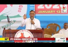 2020 IPC General Convention – Friday Afternoon Meeting