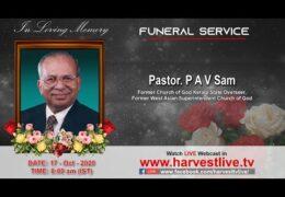 Pastor PAV Sam-Homegoing Celebration