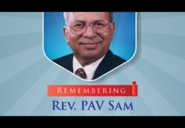 NACOG Remembers-Pastor PAV Sam