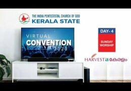 2020 IPC Kerala State Convention–Sunday Service