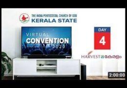 2020 IPC Kerala State Convention–Sunday Evening
