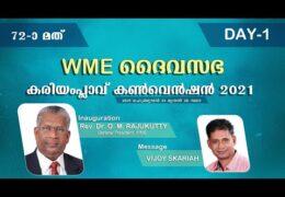 2021 WME Kariamplave Convention–Monday