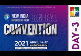 2021 New India Church of God Convention–Friday